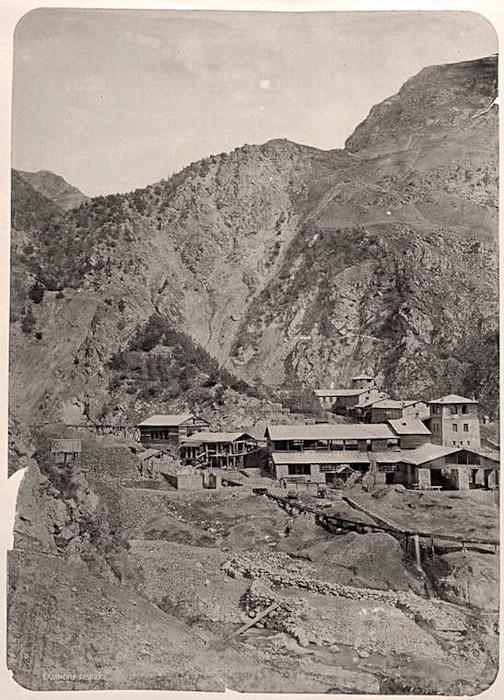 Садонский рудник в 1886 году