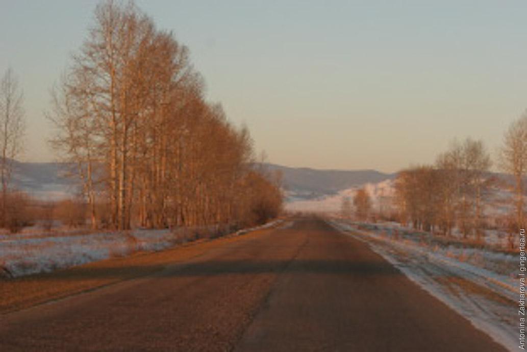 По дороге к Иволгинскому дацану