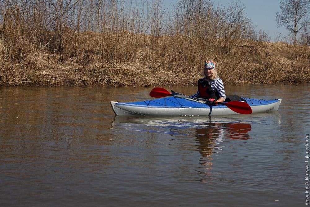 каяк на реке Киржач