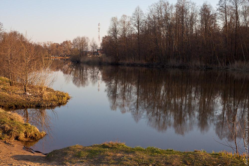 место антистапеля на реке Киржач