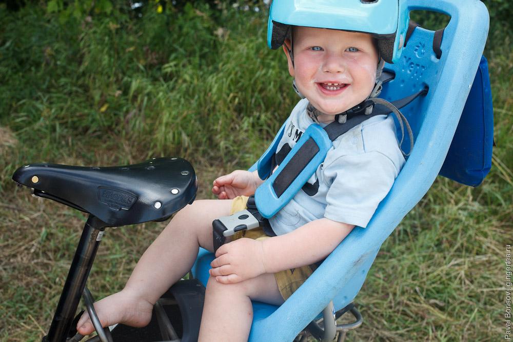 велопоход с ребенком