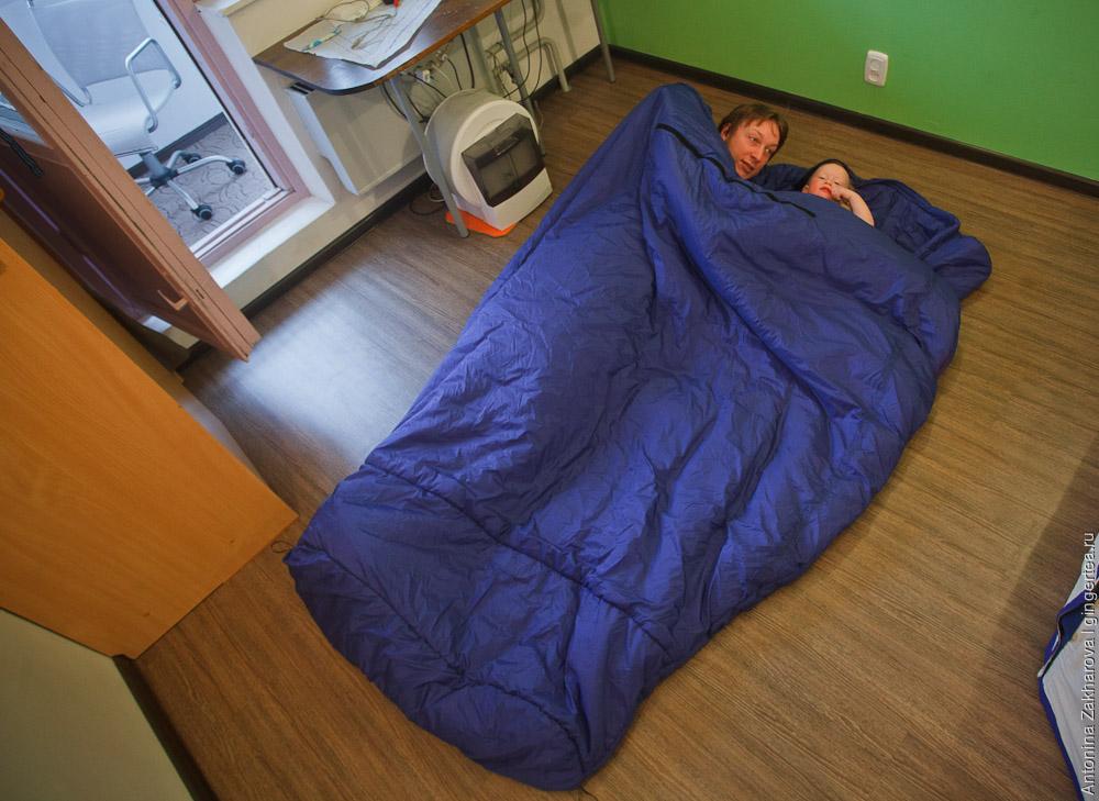 спальник из Прималофта своими руками для двоих-троих человек