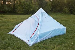 Легкая палатка из силнейлона своими руками: комфортная версия
