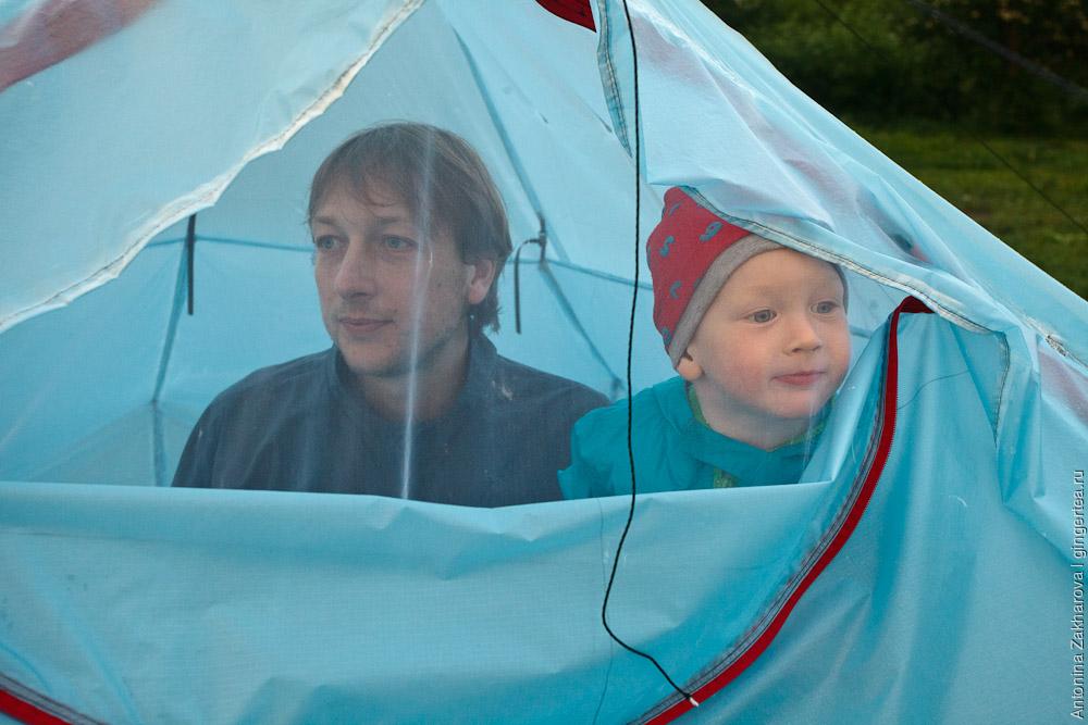 ультралегкая силиконовая палатка своими руками