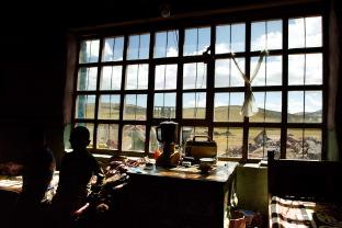 Как выглядят тибетские дома