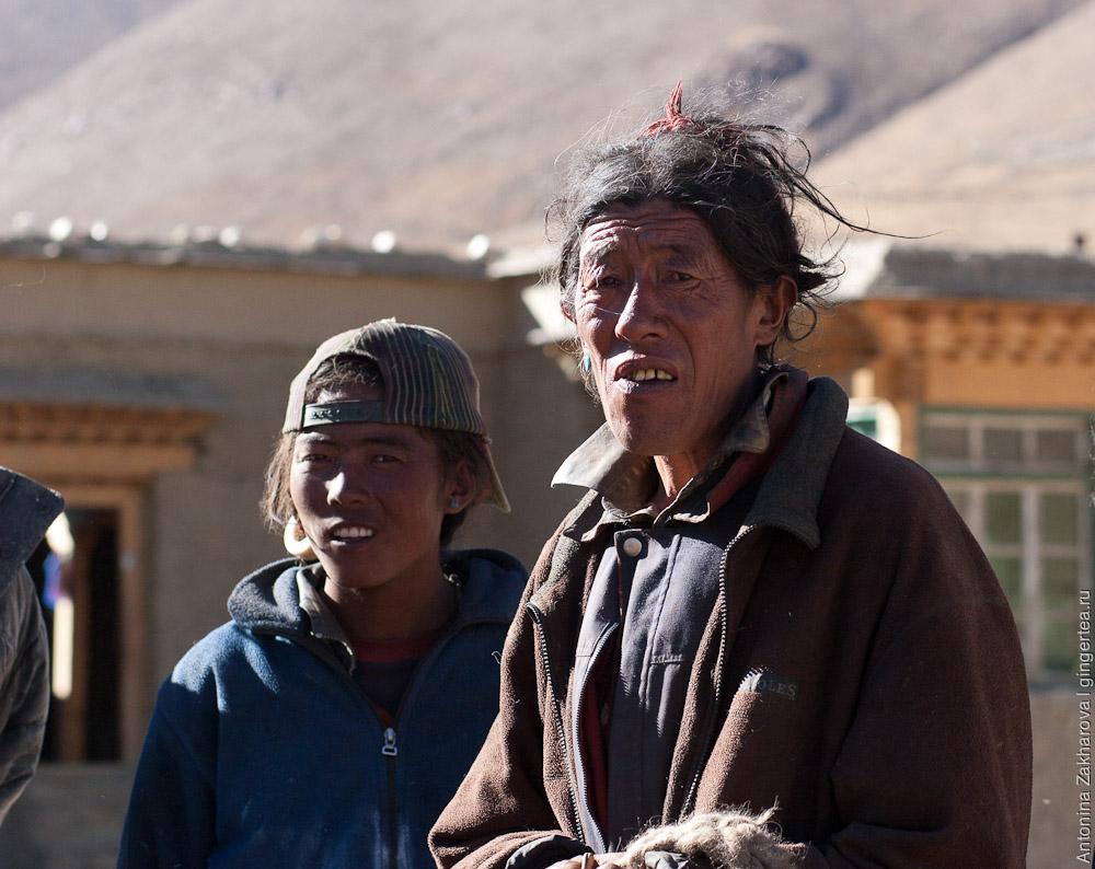Как выглядят сельские тибетцы