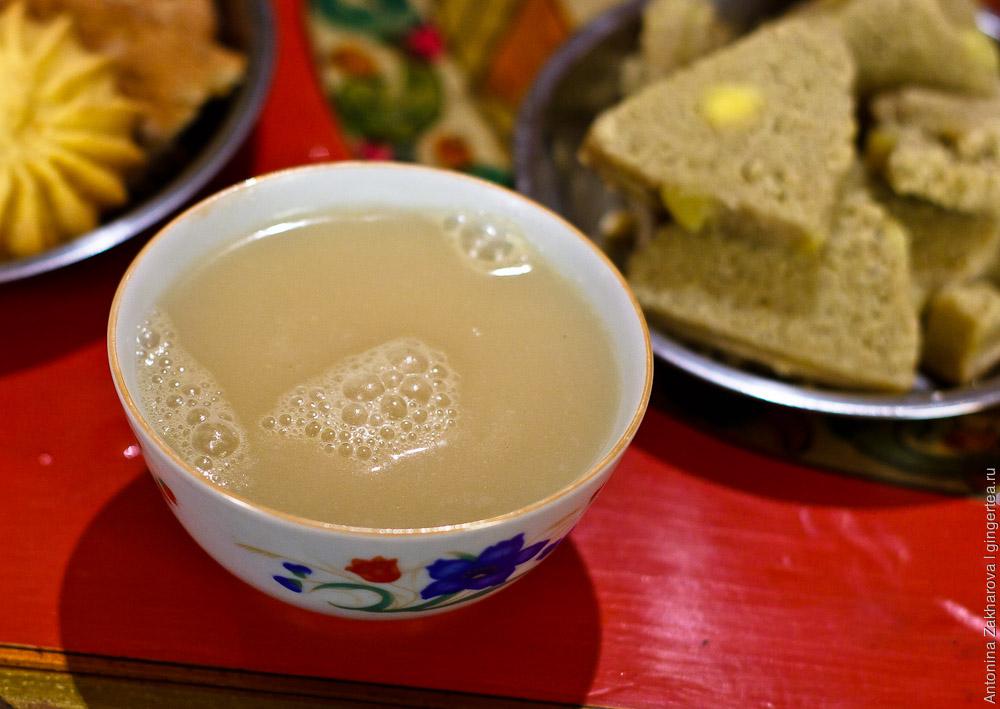 Как сделать молочный чай дом