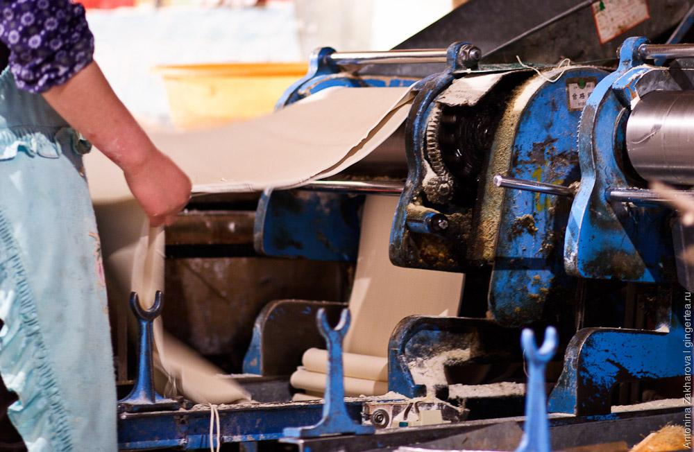 машина для производства лапши в Лхасе