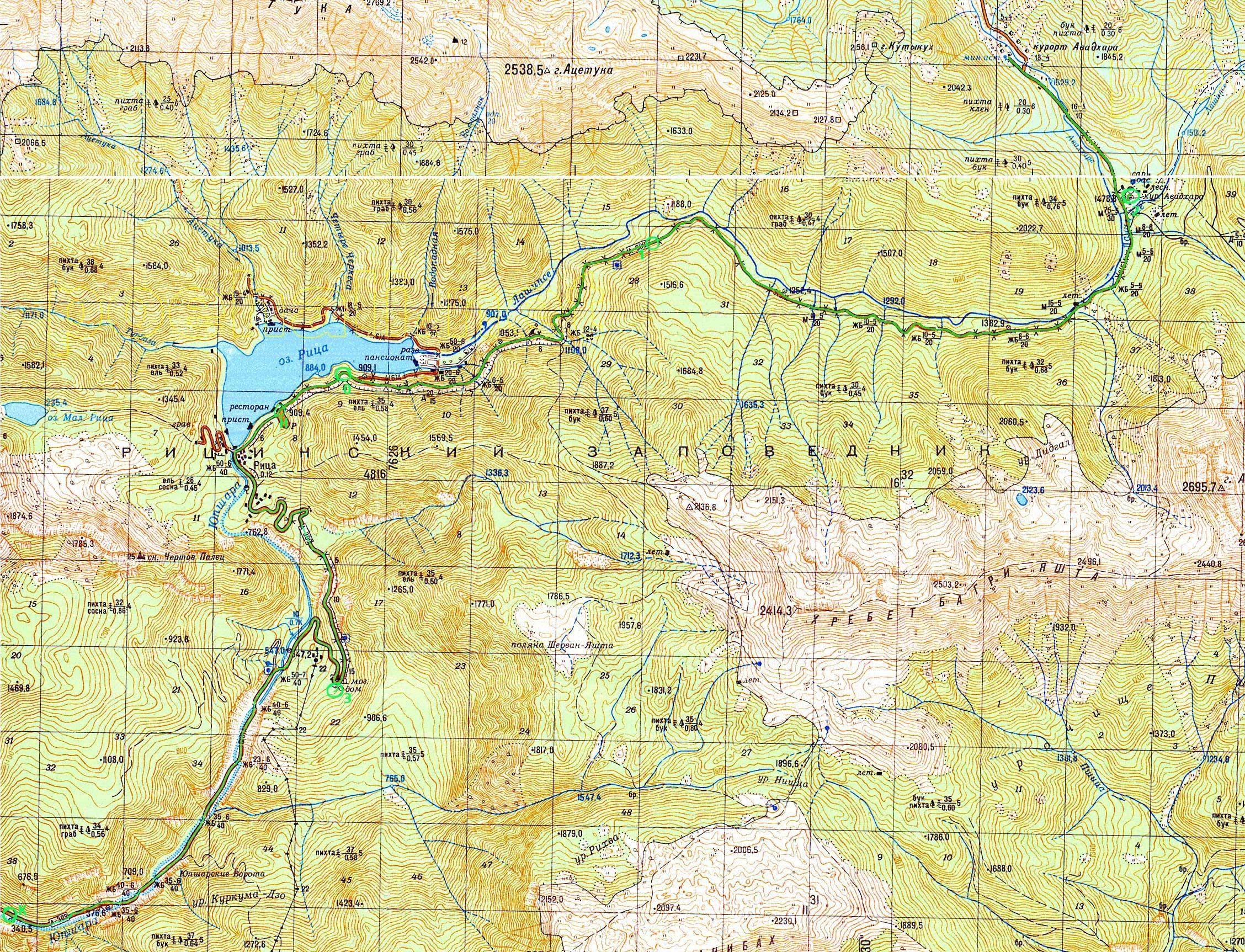 Озеро рица фото дача сталина