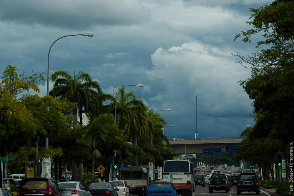 транспорт Борнео