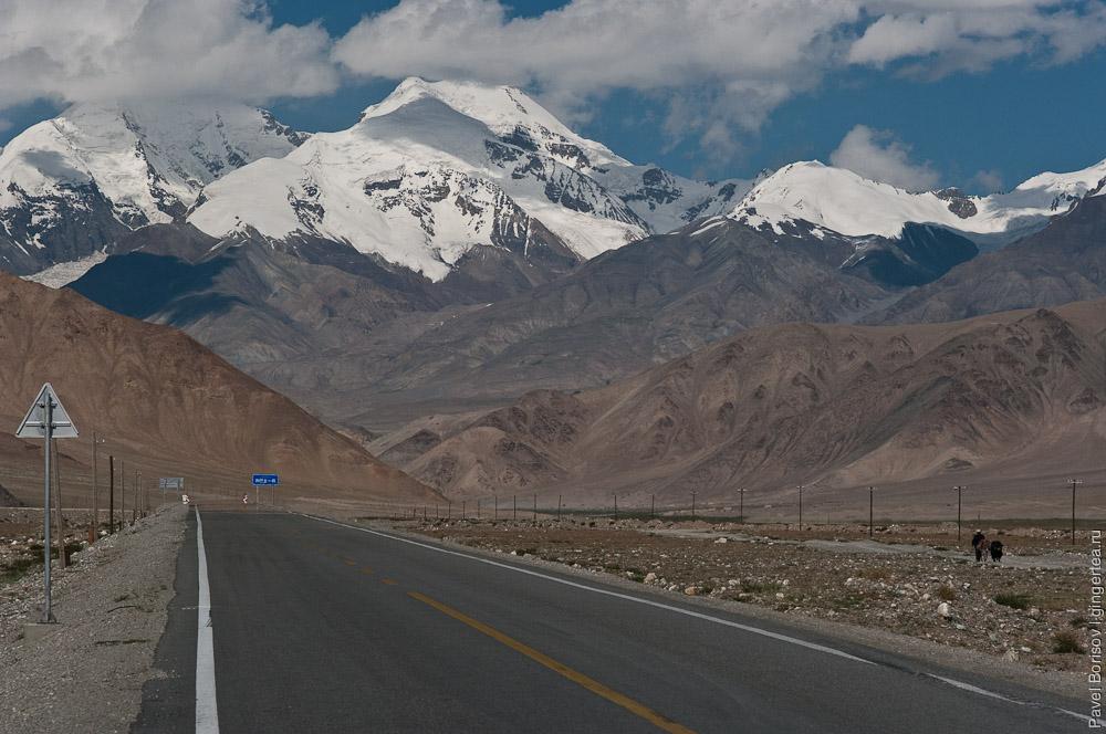 Каракорумское шоссе. Китай