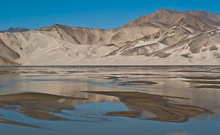 По Каракорумскому шоссе. Конгур-Музтаг и засыпанные песком горы