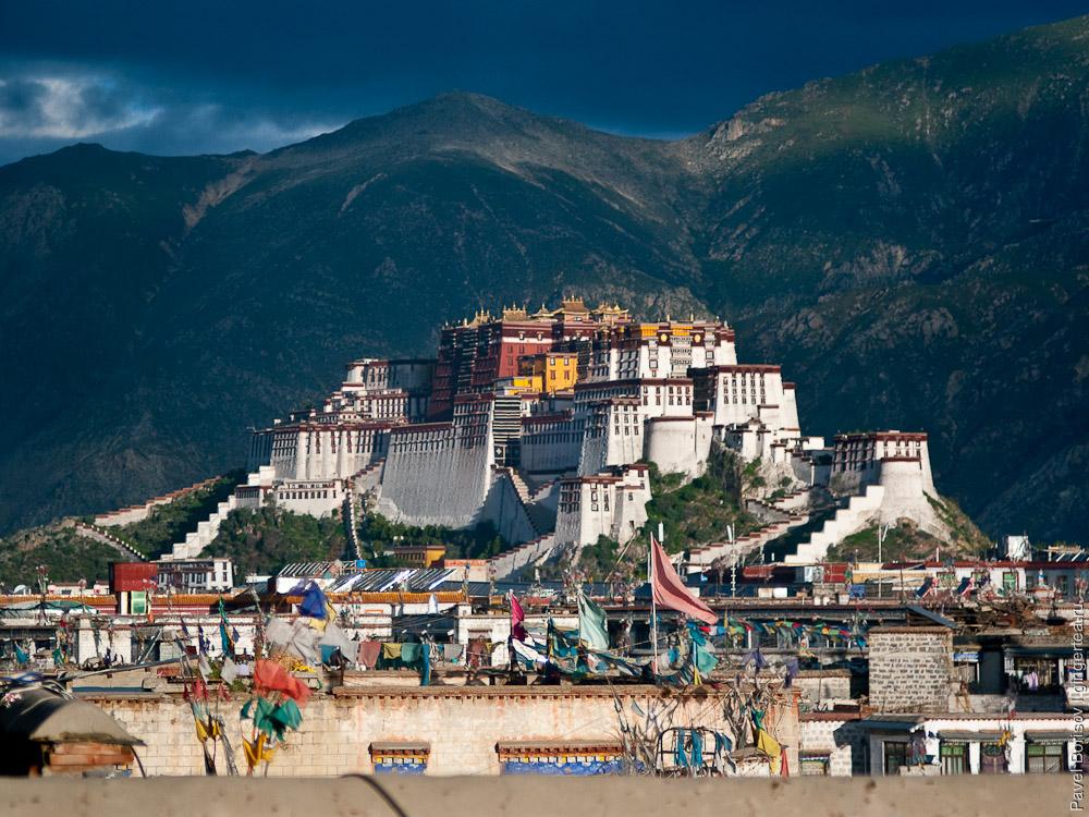 Потала. Лхаса. Тибет