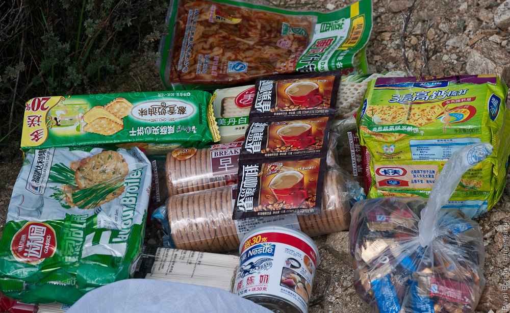 Раскладка в Кашгаре. Опыт закупки китайских продуктов в поход