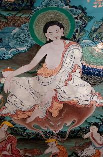 Старинные тханки в Тибете