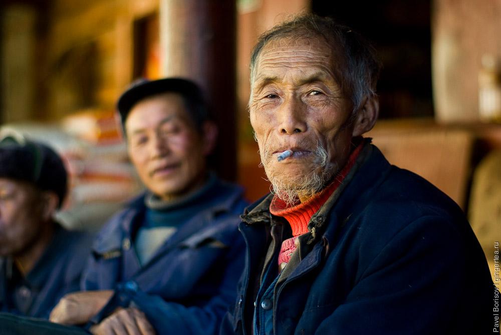 Крестьянин китаец. Меконг. Китай