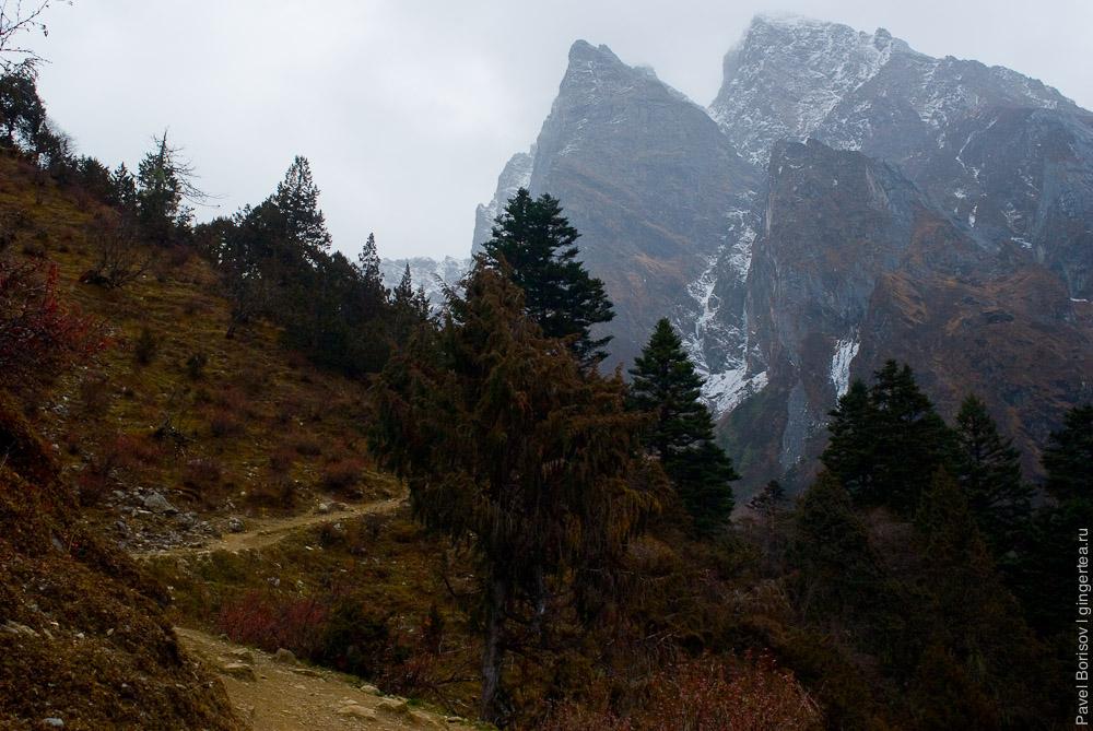 горы Тибет