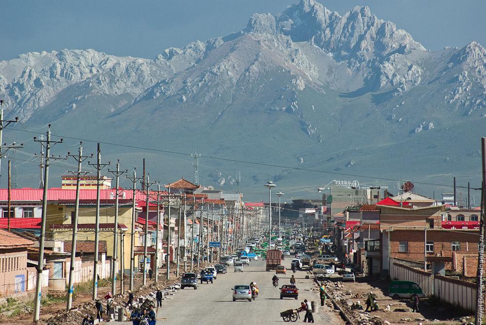 город Мачин в Цинхае, Maqin in Qinqhai