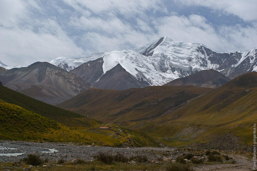 горы в провинции Цинхай, mountains in Qinghai province