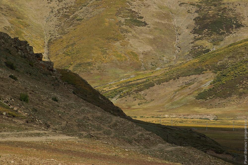 дорога в Цинхае (Амдо)