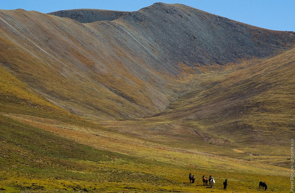 перевал Три Седла - восточный