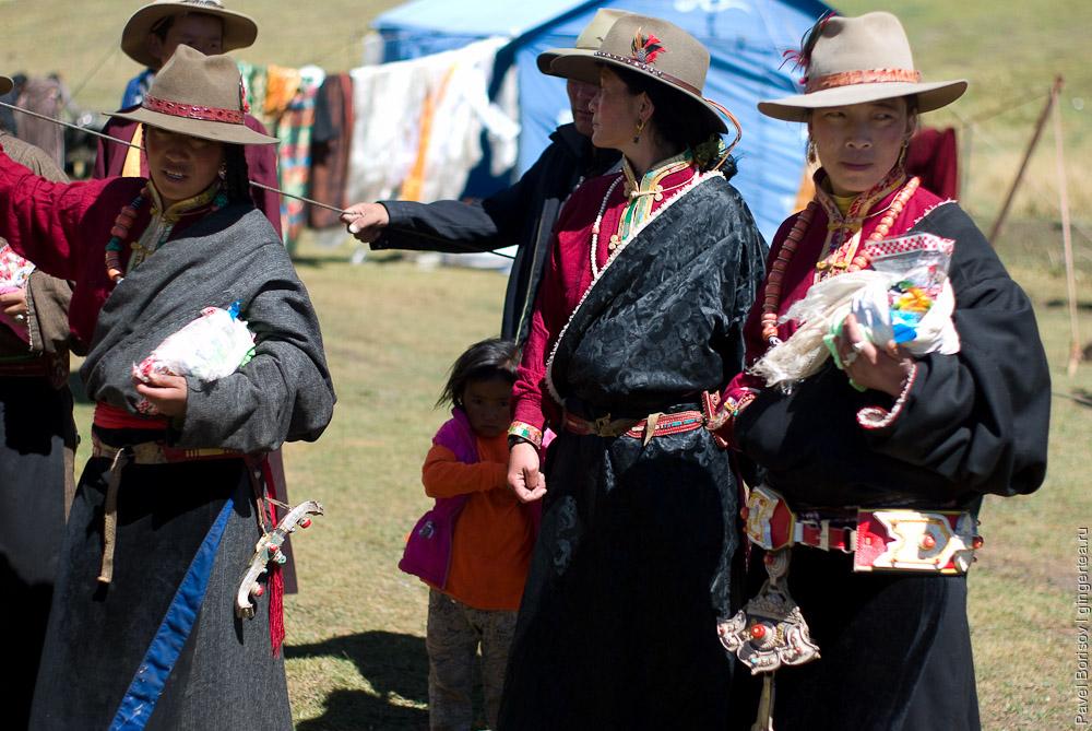 Тибетские женщины