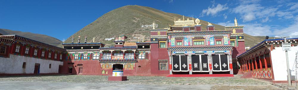 Как строят тибетские ступы
