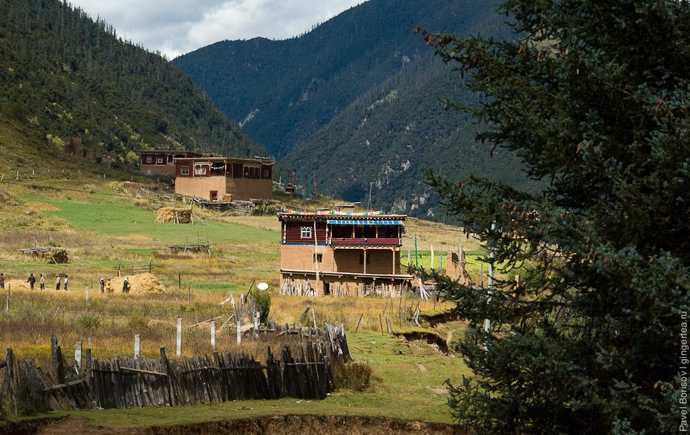 деревня в Сычуани, Sichuan village