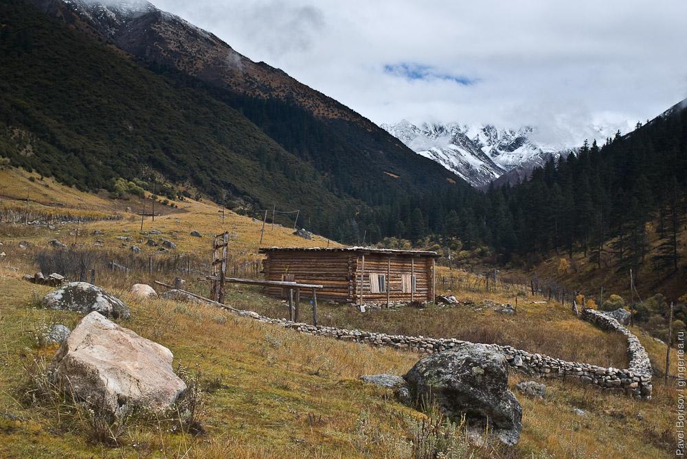 тибетская изба, Сычуань