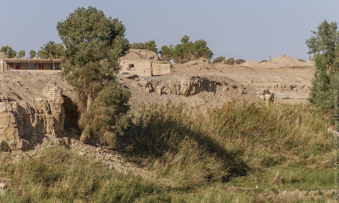 дома пастухов в Уйгурии