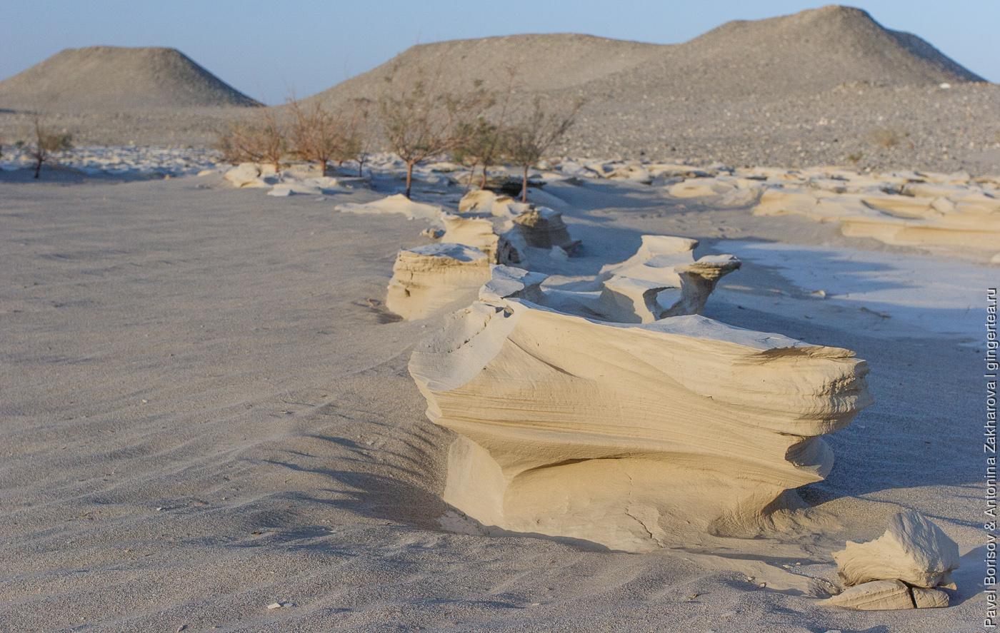китайская пустыня Такла-Макан