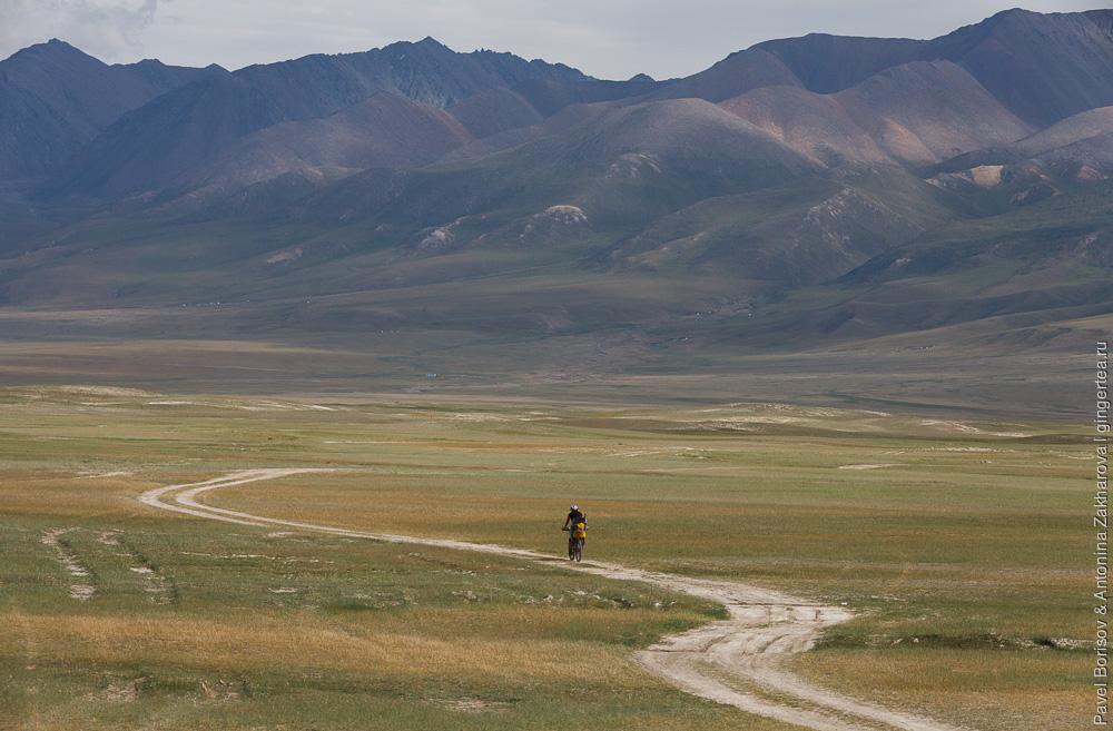 велопоход с ребенком в Китайском Тянь-Шане