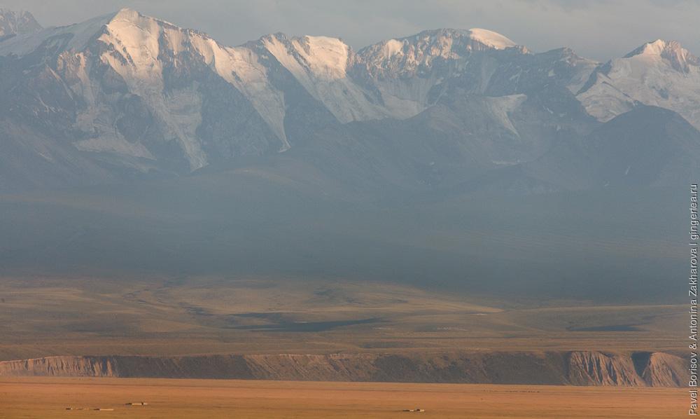 Юлдузская равнина, китайский Тянь-Шань, велопоход