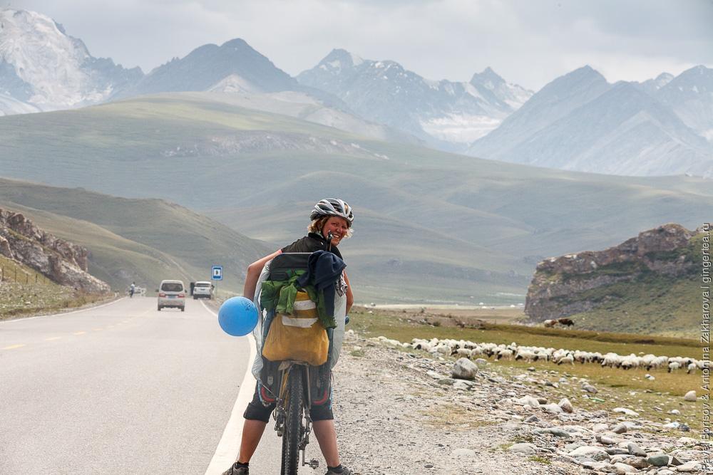велопоход с ребенком по Китаю