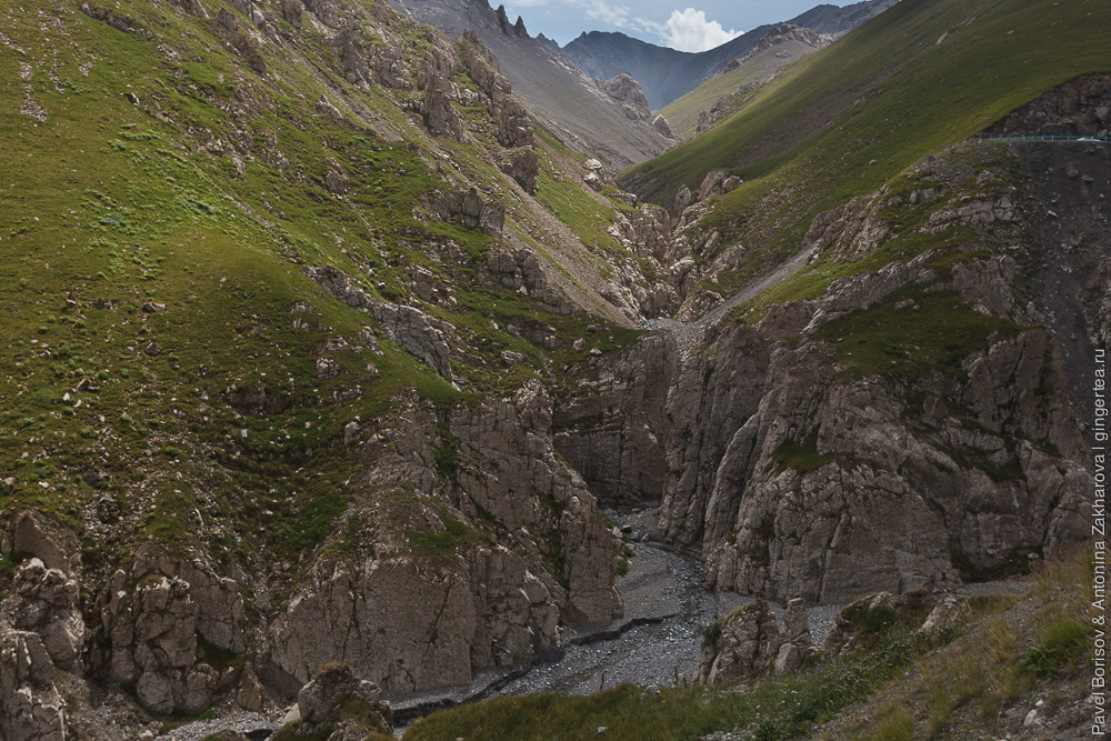 Хребет Кектектау в Китае