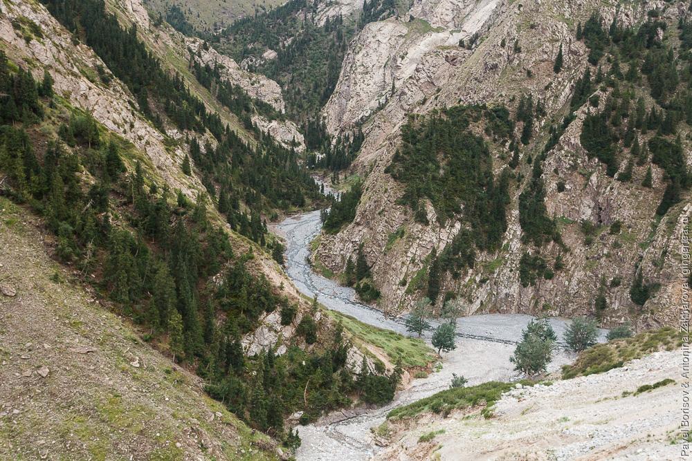 перевал Телемет в китайском Тянь-шане