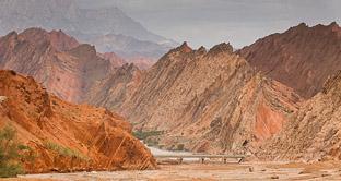 Красные горы и оазис Куча на Шелковом пути. Пока, Тянь-Шань!