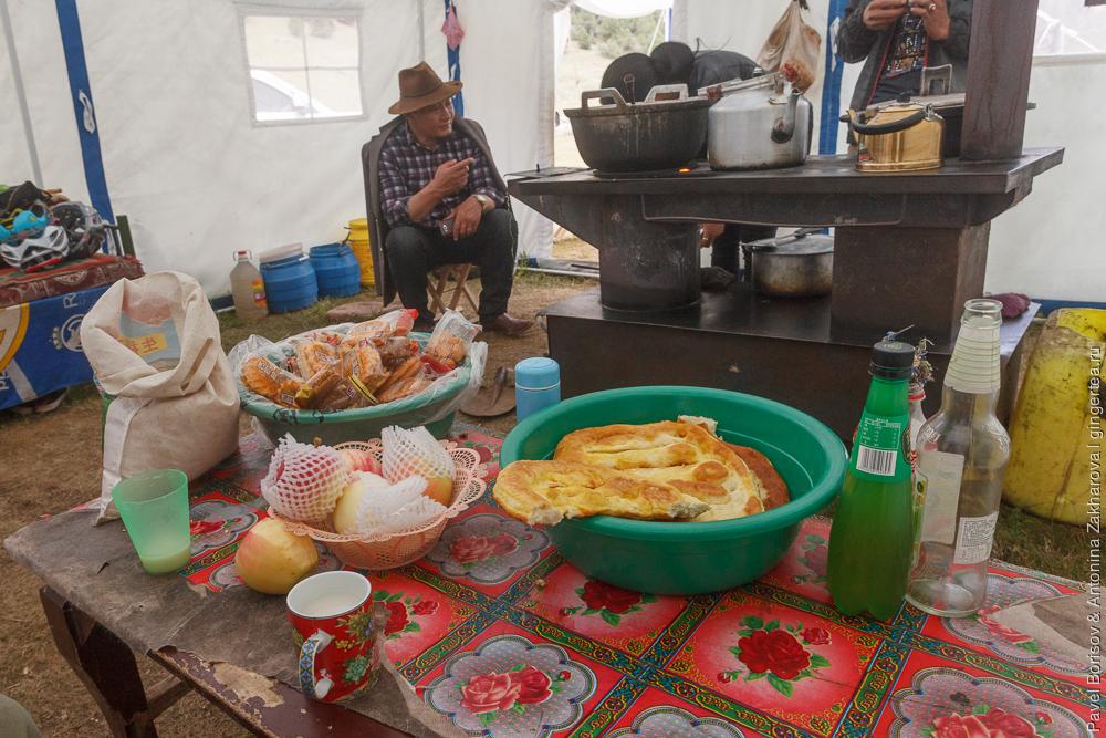 угощение от коченивков в Цинхае