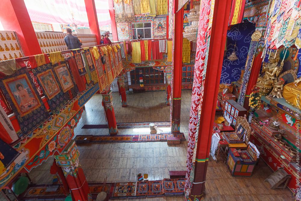 тибетский монастырь на Меконге
