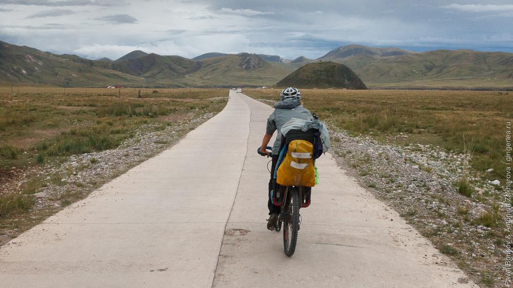 велосипедный поход с ребенком по Цинхаю, Сычуани и Юньнани