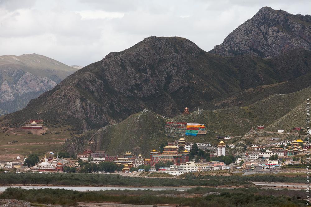 город монастырей в Цинхае