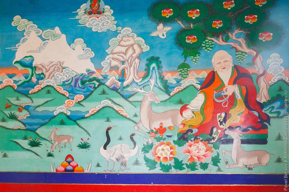 6 символов долголетия в Тибете