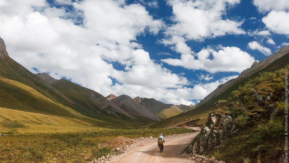 велопоход в провинции Цинхай, Китай, Восточный Тибет