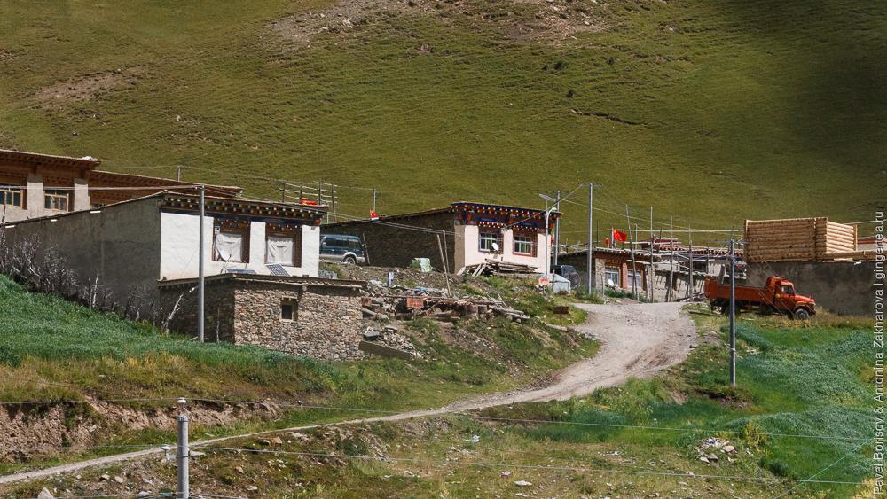село в тибетском стиле