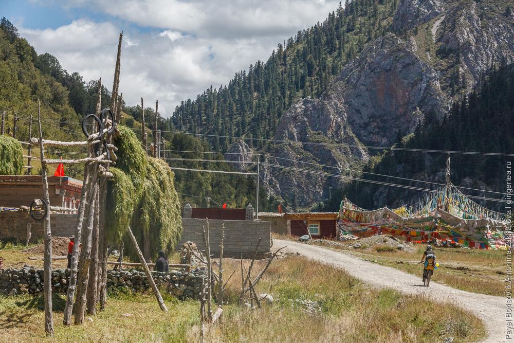 село в Восточном Тибете