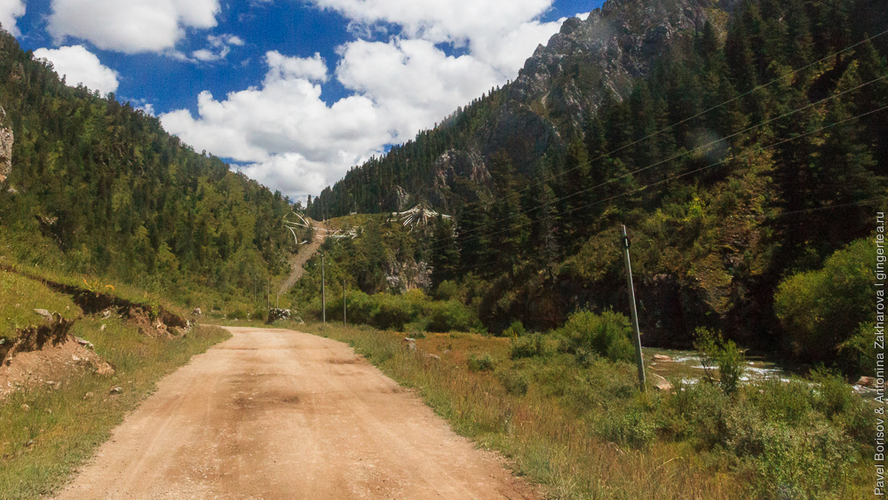дорога в Восточном Тибете