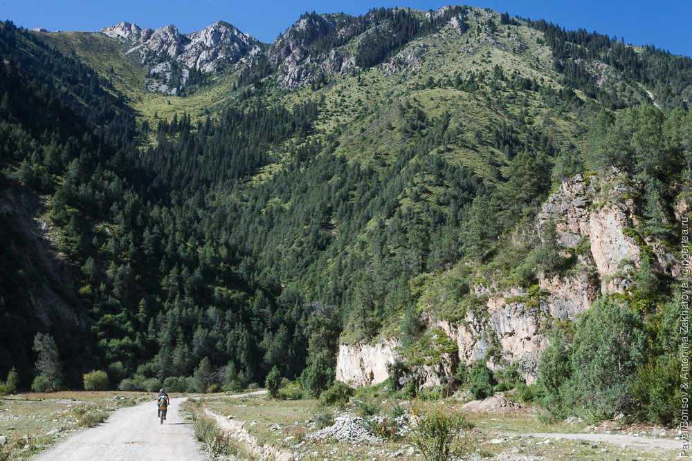 велопоход по Восточному Тибету