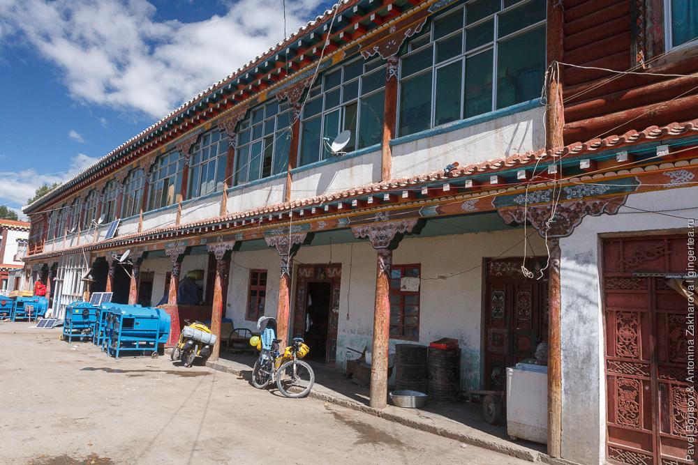 рынок в Люшо, Сычуань, Китай