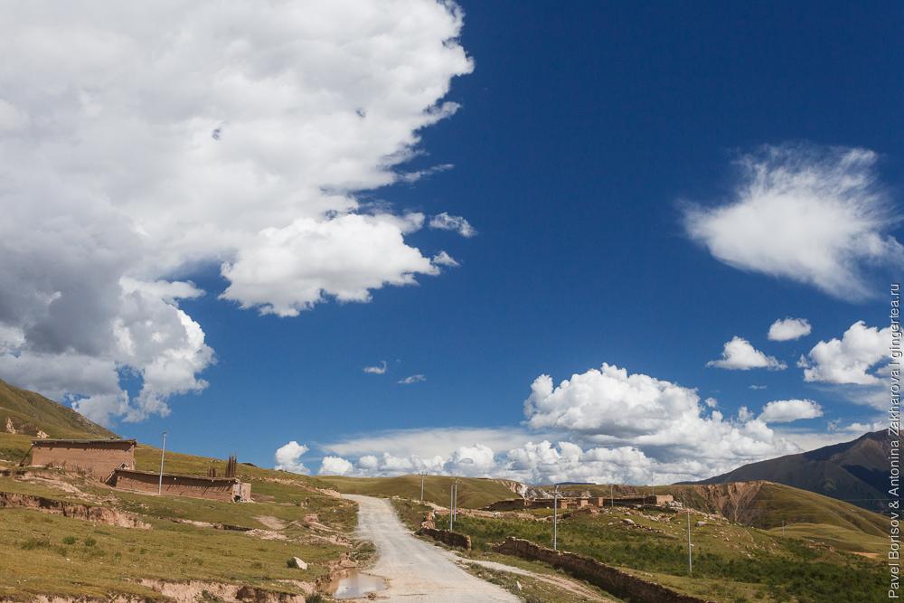 Цинхай, Китай, Восточный Тибет, река Дзечу