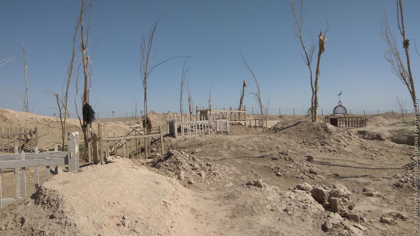 уйгурское кладбище